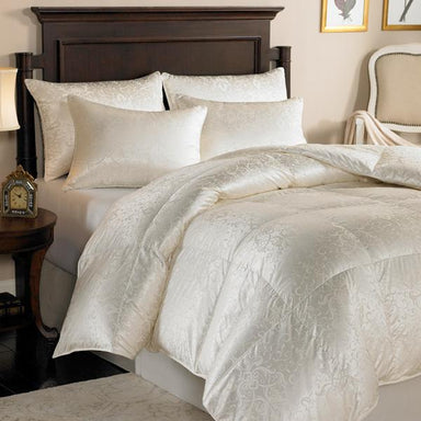 Eliasa Canadian White Goose Down Comforter by Downright | Fig Linens