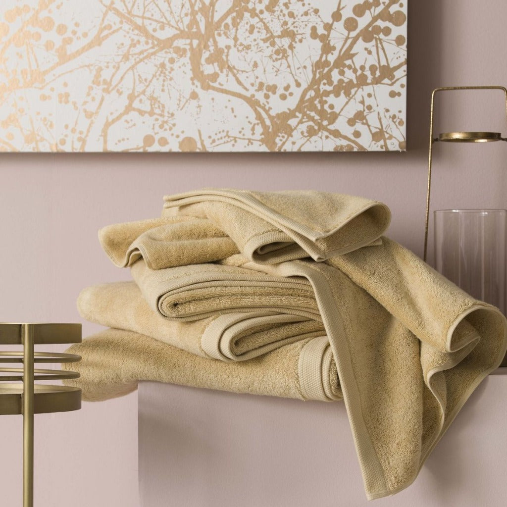 Essentiel Pollen Bath Towels by Alexandre Turpault | Fig Linens
