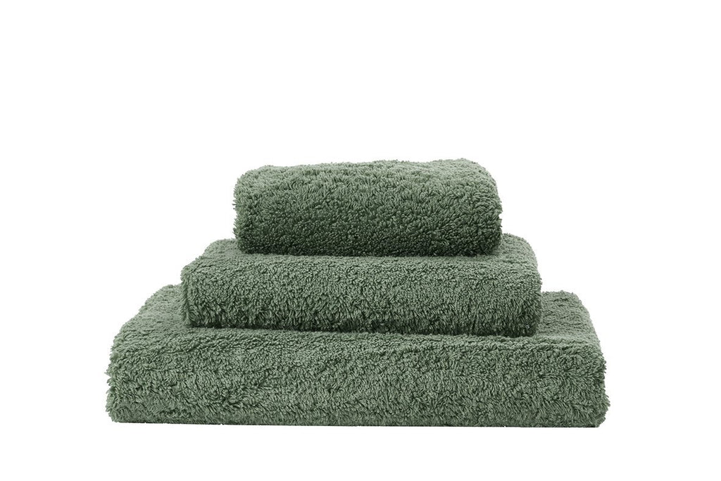 Abyss Super Pile Evergreen Towels - Fig Linens