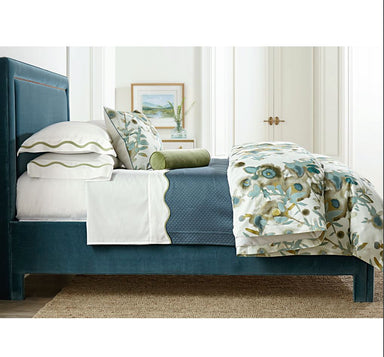 Open Spaces Beige & Teal Bedding by Legacy Home | Fig Linens