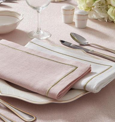 Seaton Dinner Napkins by Sferra (Set of 4) | Fig Linens