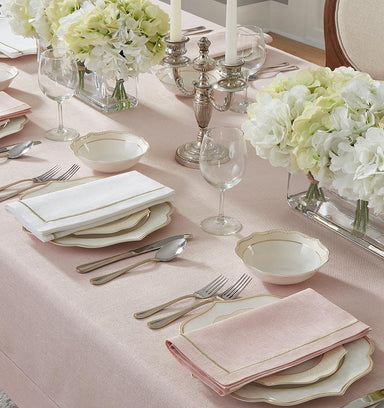 Fig Linens - Seaton Dinner Napkins by Sferra (Set of 4) - LIfestyle
