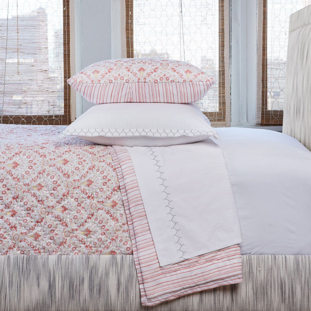 Arama Quilt & Shams by John Robshaw | Fig Linens and Home