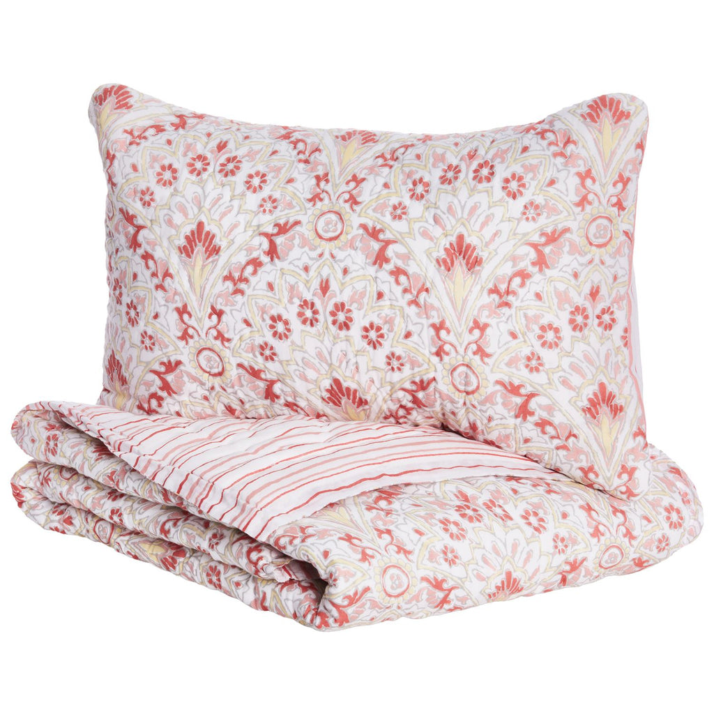 Arama Mini Blanket & Sham Set by John Robshaw | Fig Linens