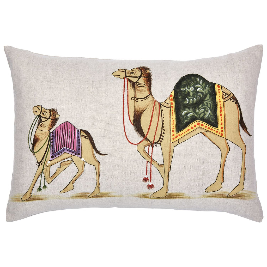 Apakata Camel Pillow by John Robshaw | Fig Linens and Home
