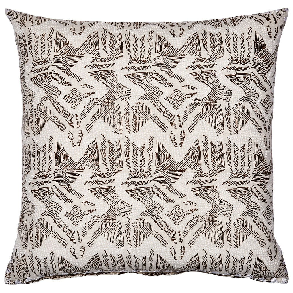 Dulina Neutral Decorative Pillow by John Robshaw | Fig Linens
