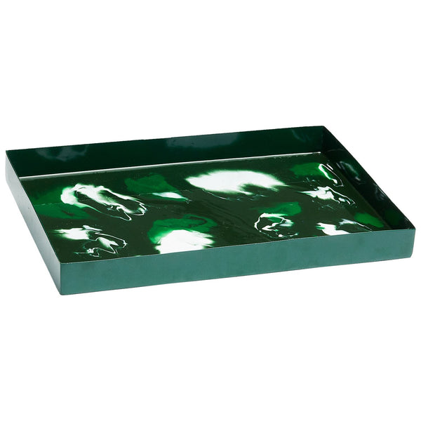 Pavesa Moss Tray by John Robshaw | Fig Linens and Home