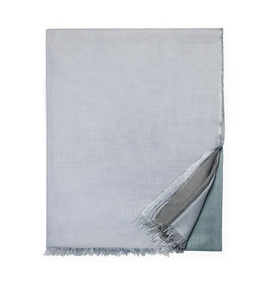 Bosa Aquamarine Bed Scarf by Sferra | Fig Linens and Home