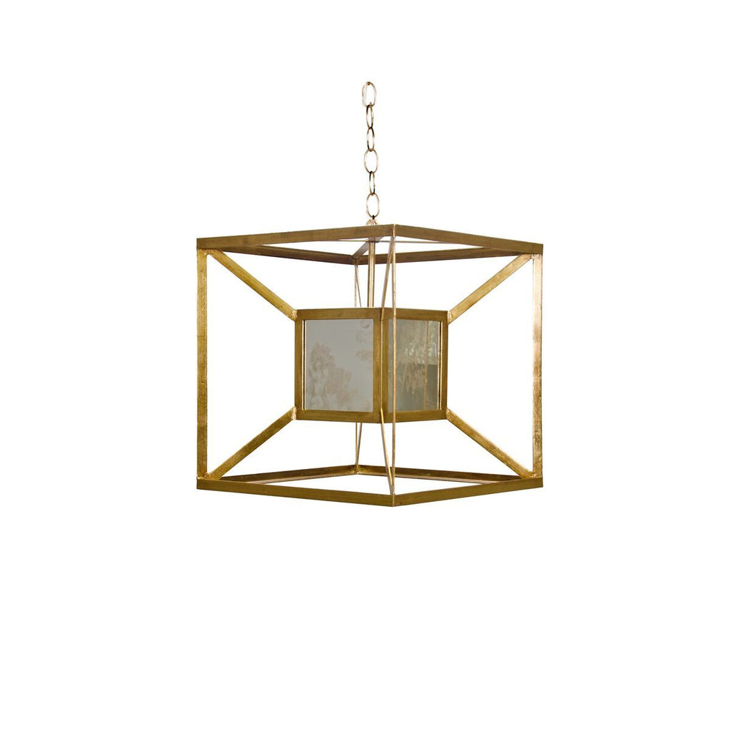Maxwell Box Pendant Light by Worlds Away | Fig Linens and Home