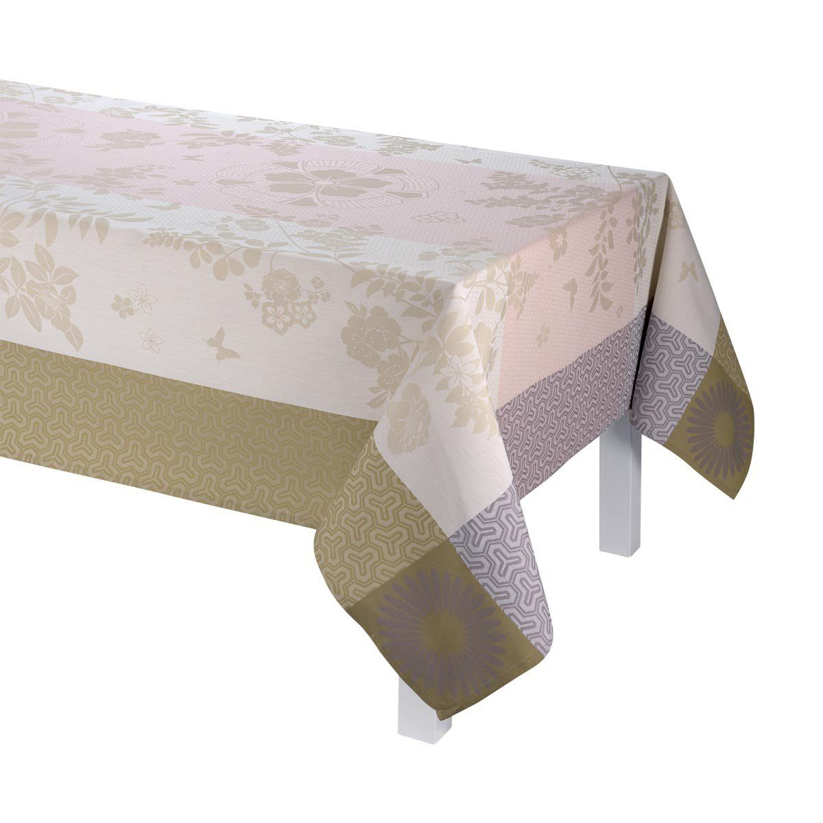 Asia Mood Table Linen Tablecloth Placemat Napkin Runner by Le Jacquard Francais Fig Linens