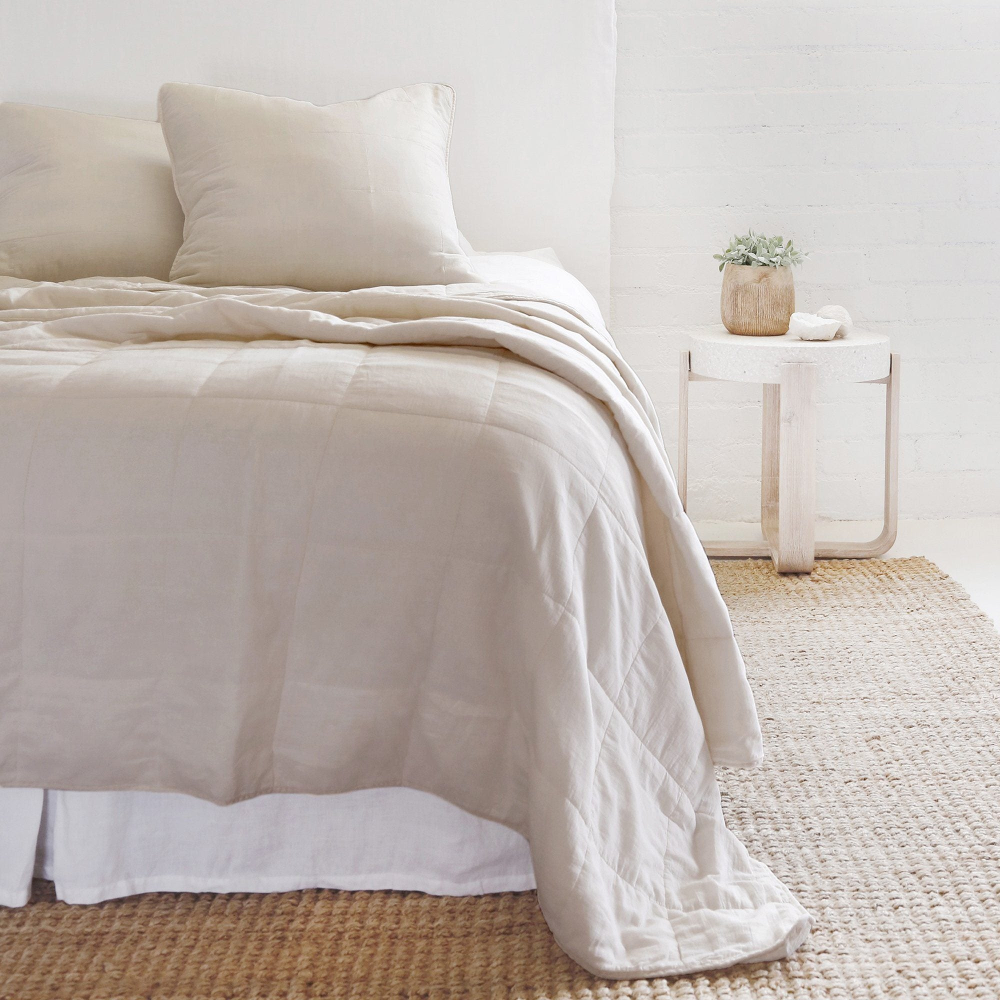 Antwerp Natural Coverlet Collection