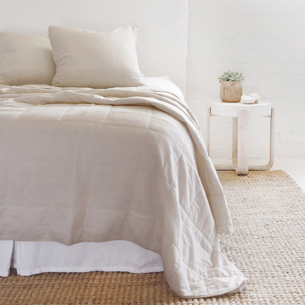 Pom Pom at Home - Antwerp Natural Coverlet Collection | Fig Linens
