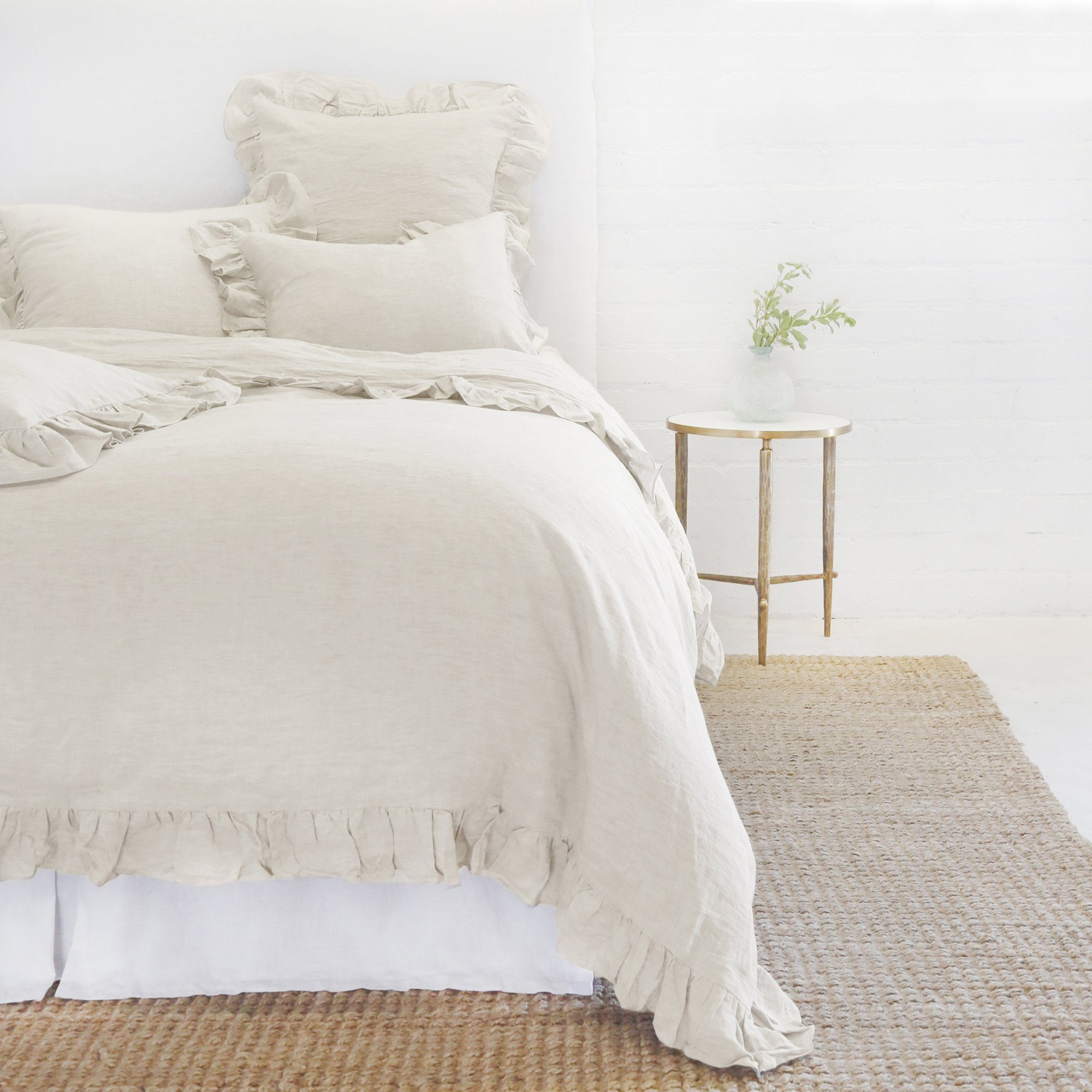 Charlie Flax Duvet Collection