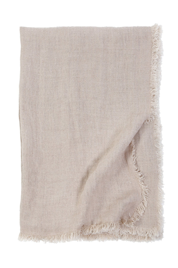 Fig Linens - Pom Pom at Home Laurel Blush Pink oversized throw blanket