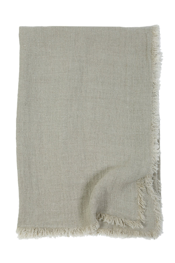 Pom Pom at Home - Laurel Pale Olive Oversized Throw - Fig Linens