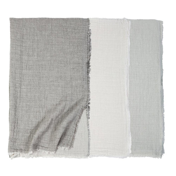 Pom Pom at Home - Hermosa Grey Oversized Throw | Fig Linens and Home