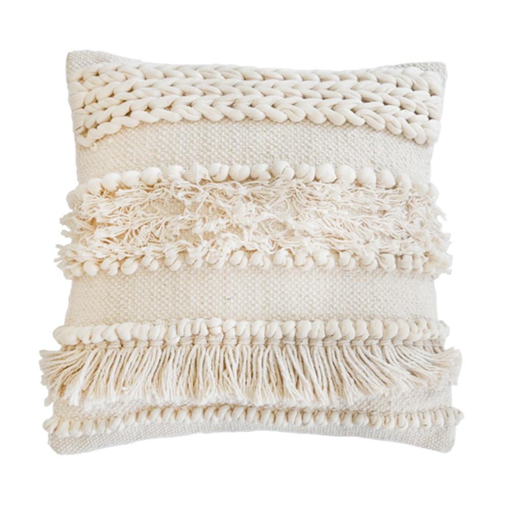 Pom Pom at Home - Iman Decorative Textured Throw Pillow - Fig Linens