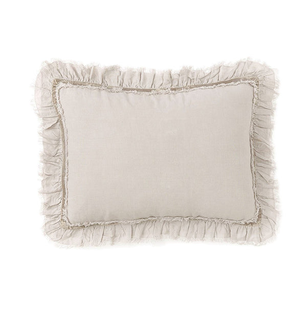 Pom Pom at Hom e- Mathilde Flax Oversized Pillow | Fig Linens