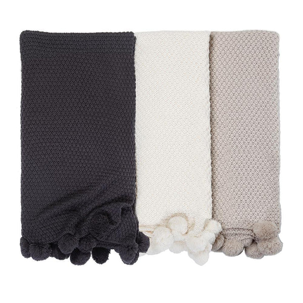 Pom Pom at Home - Riley Oversized Throw - Fig Linens