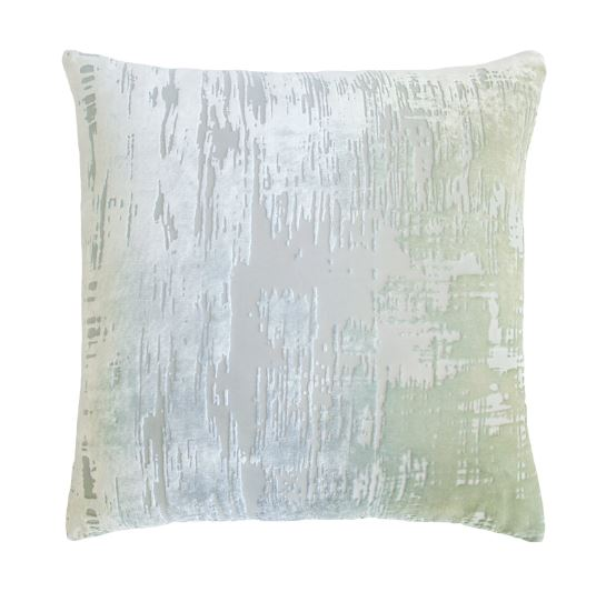 Brush Stroke Velvet Ice Pillows by Kevin O'Brien Studio | Fig Linens
