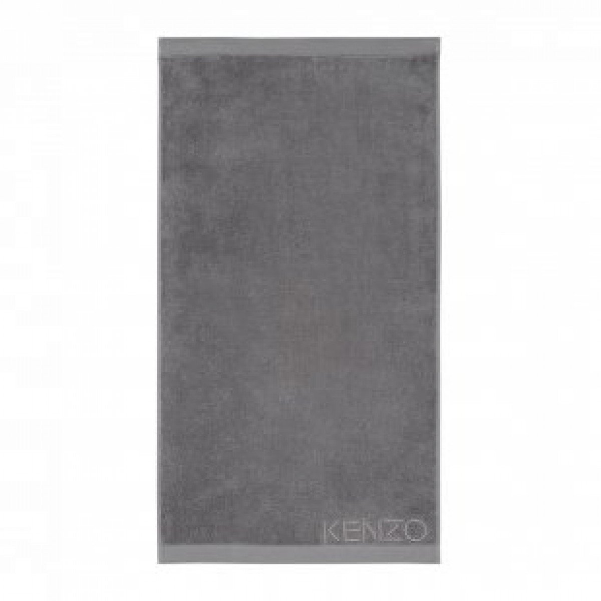 Iconic Gris Gray Bath Sheet by Kenzo | Fig Linens