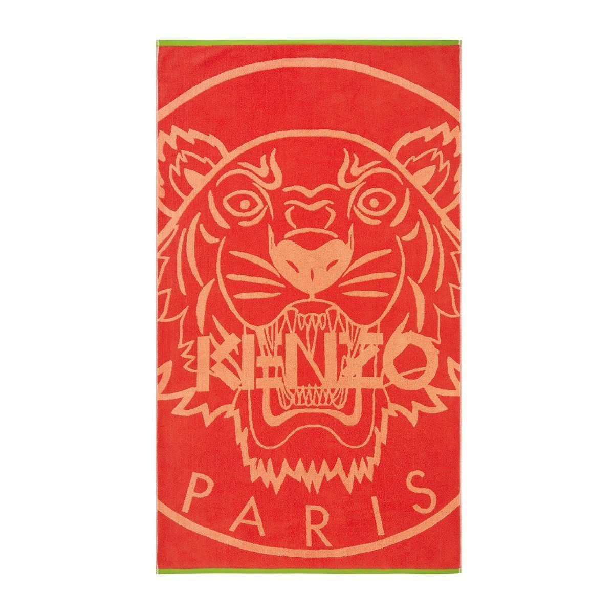 Tiger Rouge Beach Towel by Kenzo | Fig Linens - Back