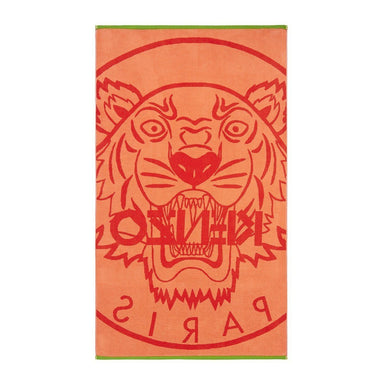 Tiger Rouge Beach Towel by Kenzo | Fig Linens - Front