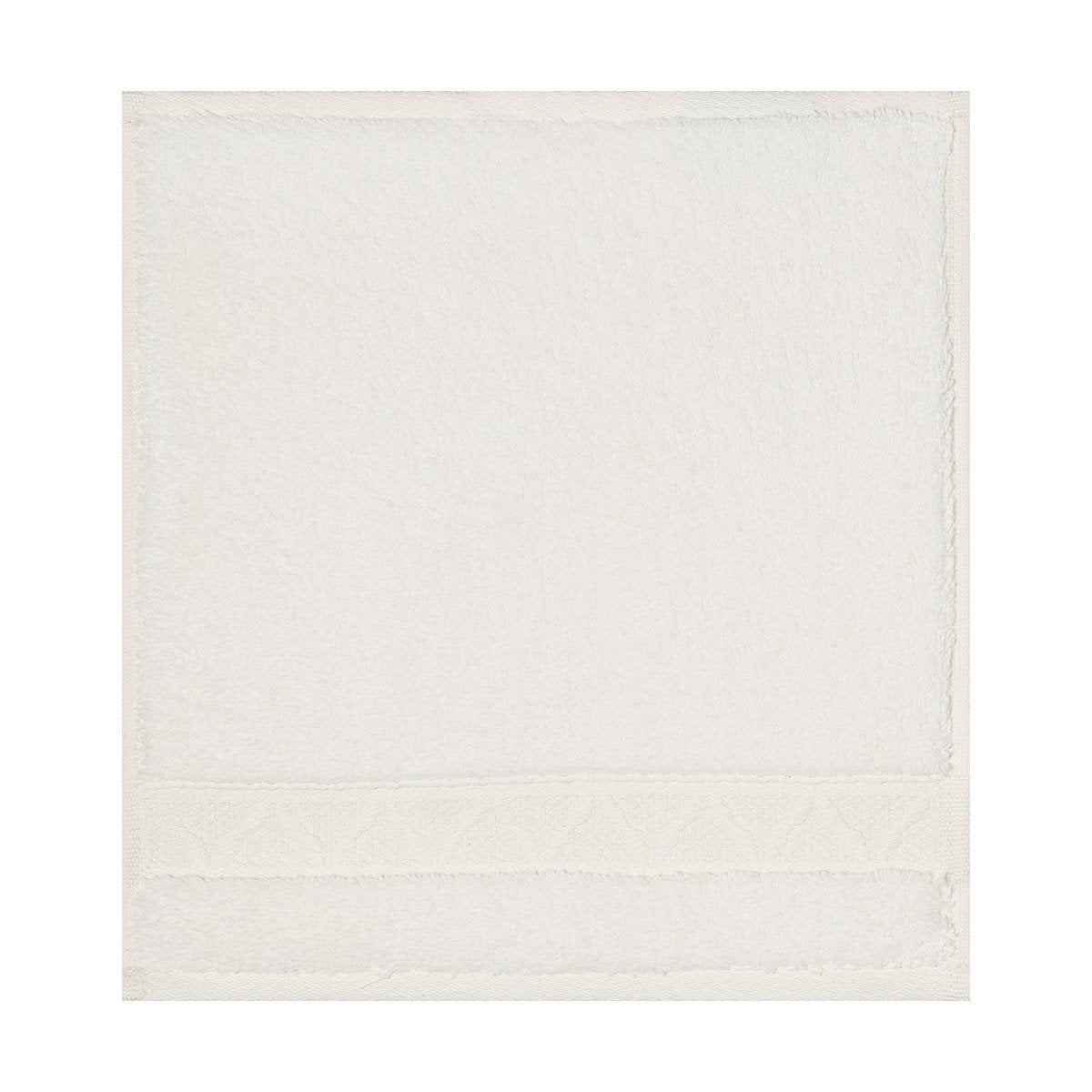 Le Jacquard Français | Caresse Ivory Bath Collection | Fig Linens - Washcloth