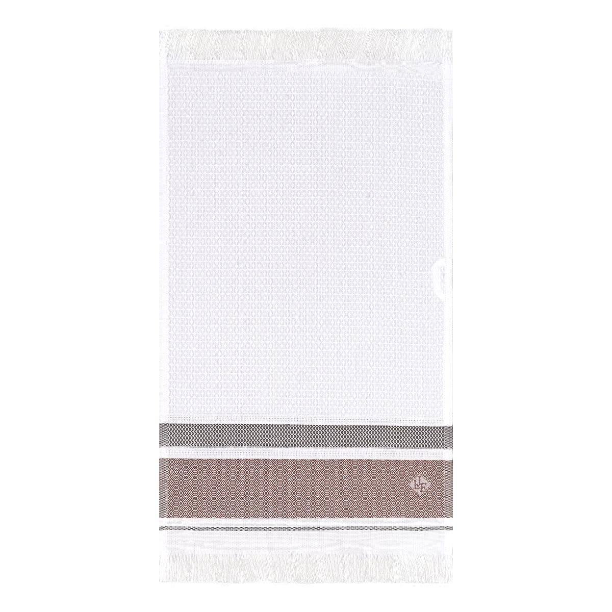 Le Jacquard Français | Folk Camel Bath Collection | Fig Linens - Bath Sheet, Towel