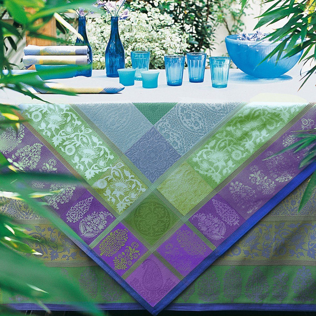Sari Gray Table Linens by Le Jacquard Français | Fig Linens