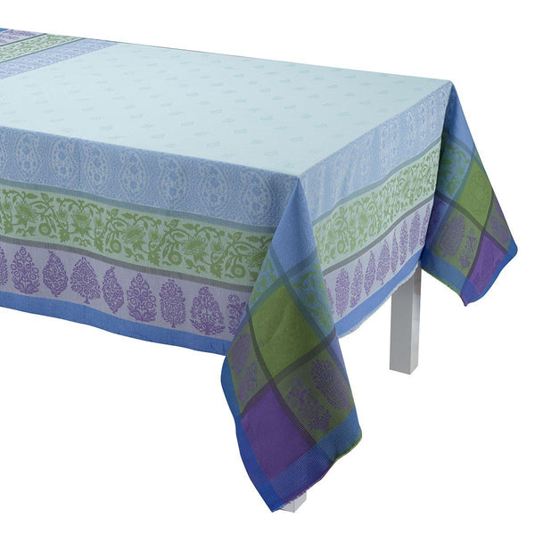 Sari Gray Table Linens by Le Jacquard Français | Fig Linens - Tablecloth