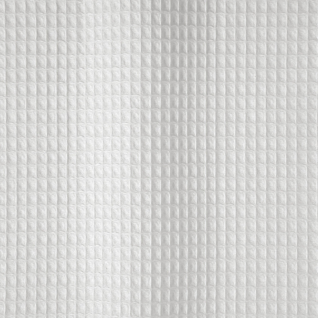 White Waffle-weave shower curtain - Belgian Waffle by Matouk Swatch - Fig Linens