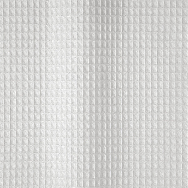 White Waffle-weave shower curtain - Belgian Waffle by Matouk - Fig Linens