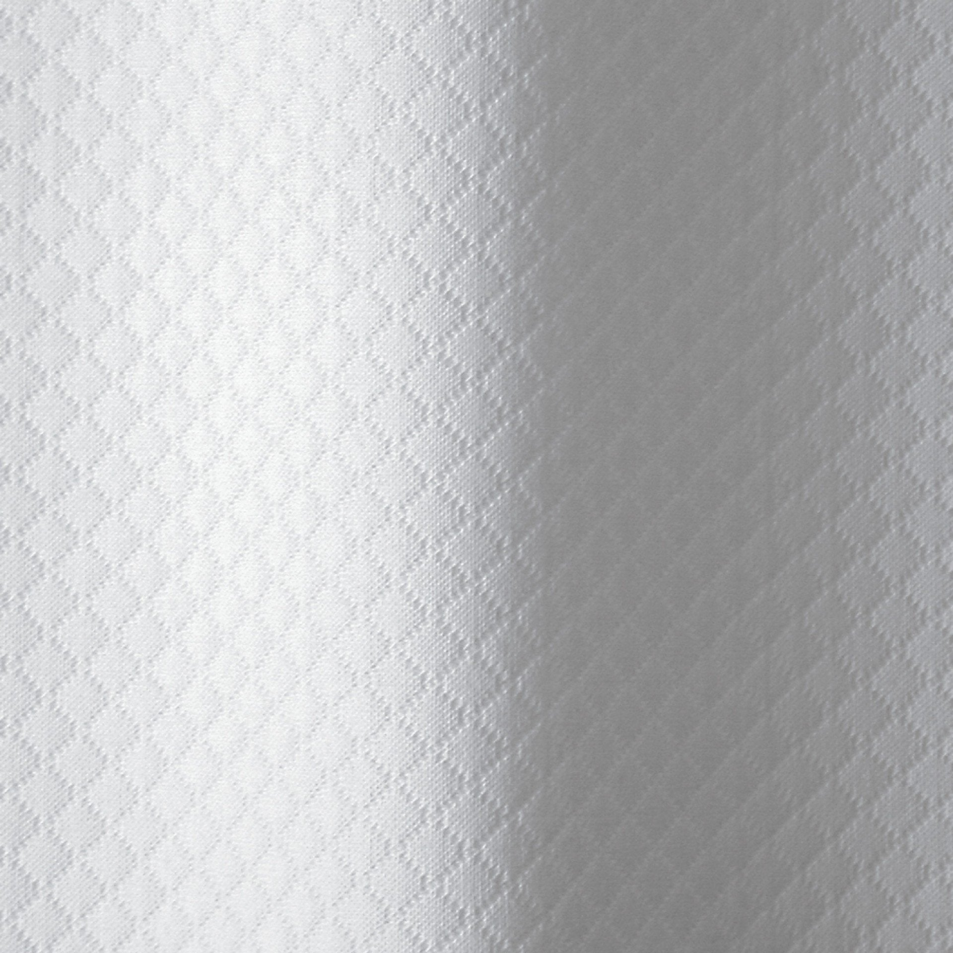 Diamond Pique by Matouk - White shower curtain - Fig Linens
