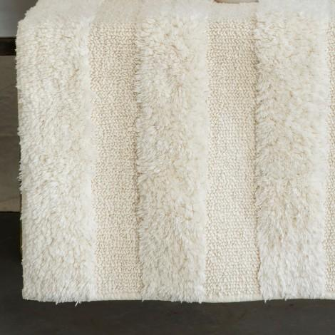 Hudson Ivory Bath Rugs by Matouk | Fig Linens and Home