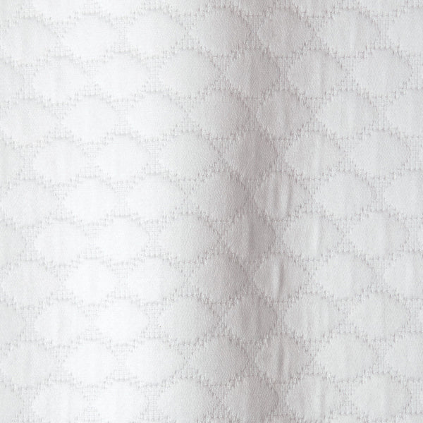 White shower curtain - Pearl by Matouk - Fig Linens and Home