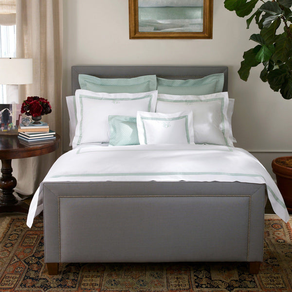 Lowell White & Pool Bedding by Matouk | Fig Linens and Home