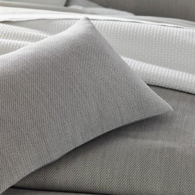 Tomas Bedding by Matouk - Gray duvet covers, blankets, shams, throw - Fig Linens