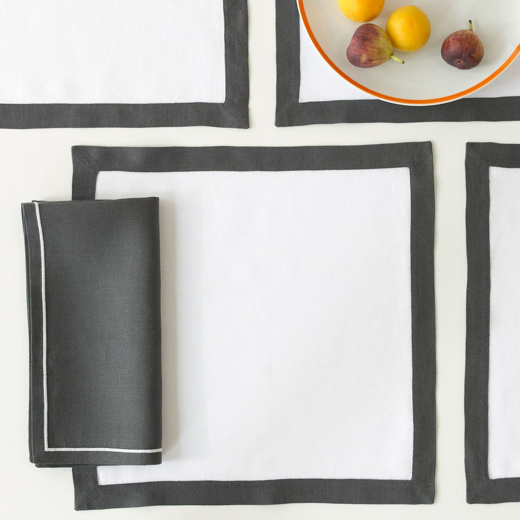 Matouk Casual Couture Square Placemats | Fig Linens and Home