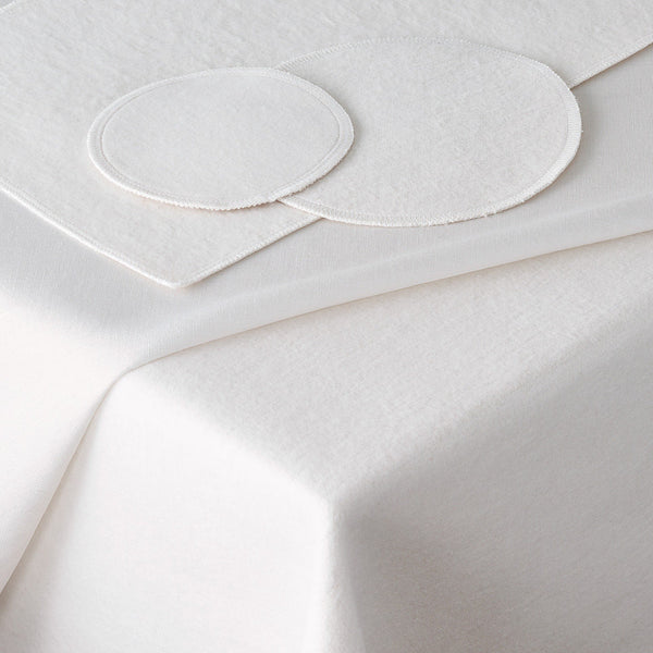 White Table Padding - Table protector by Matouk - Fig Linens