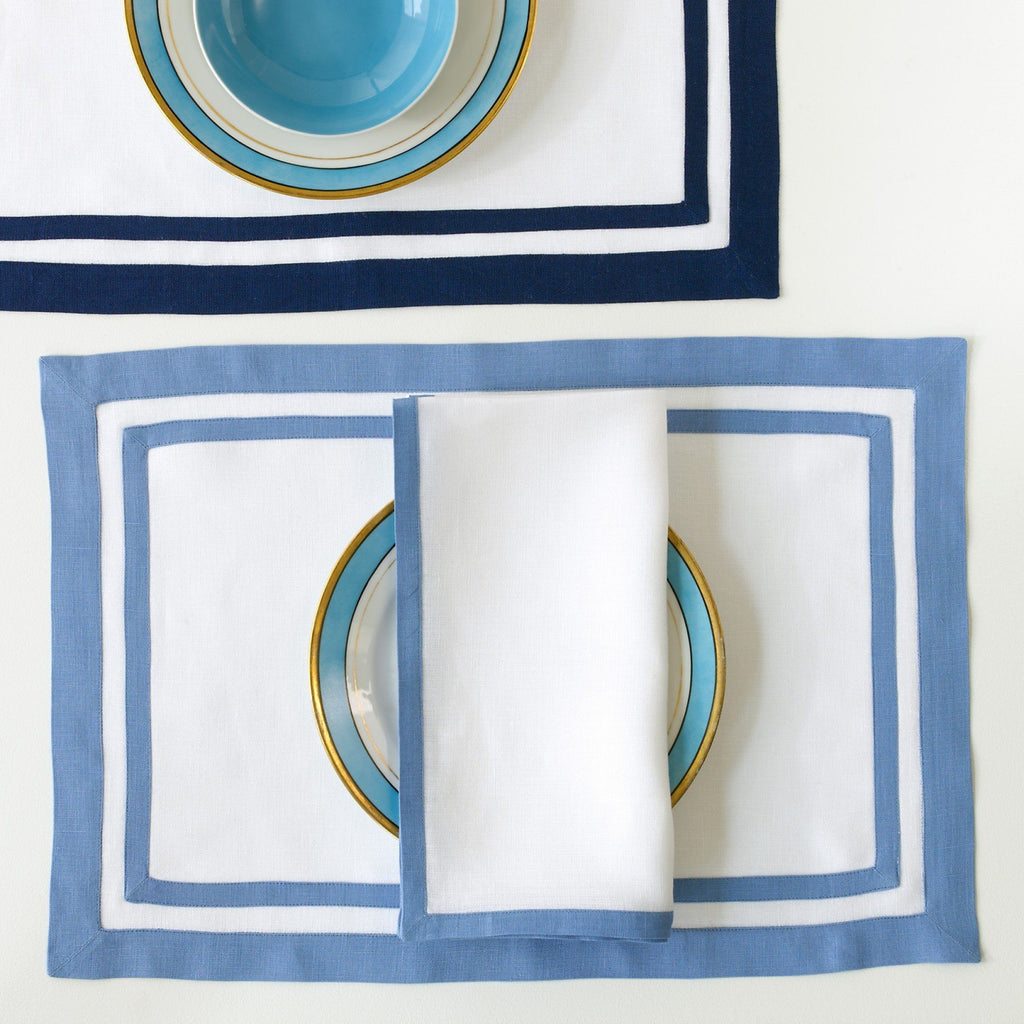 Matouk Casual Couture Regtangle Placemats | Fig Linens and Home