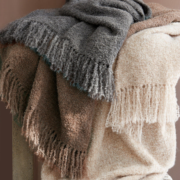 Clooney alpaca throws by matouk - Fig Linens - Lightweight luxury throw