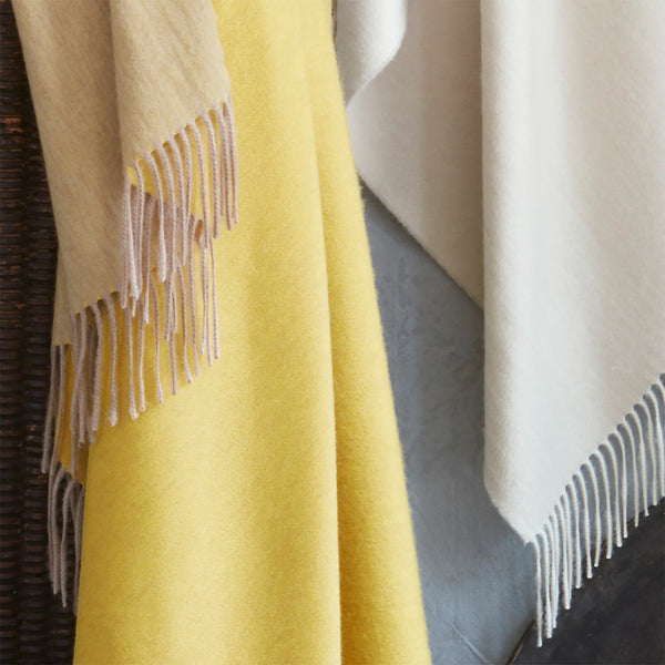 Fig Linens - Paley Luxury Cashmere Throw by Matouk