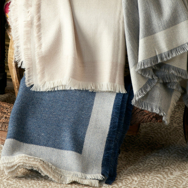 Suri by Matouk - Baby Alpaca Throw Blanket - Fig Linens and Home