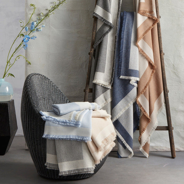 Suri Alpaca Throw by Matouk | Fig Linens and Home