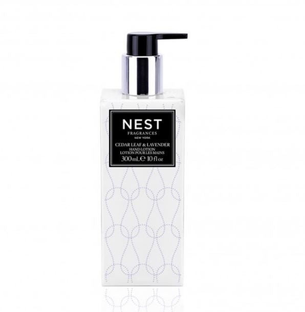 Cedar Leaf & Lavender Hand Lotion by Nest | Fig Linens