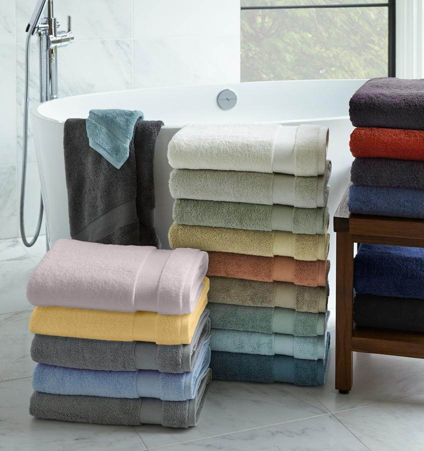 Bello Bluebell Bath Towels