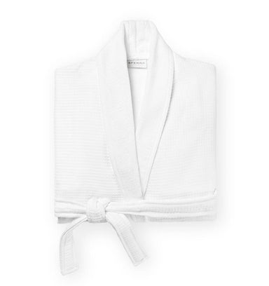 Fig Linens - Berkley White Robe by Sferra