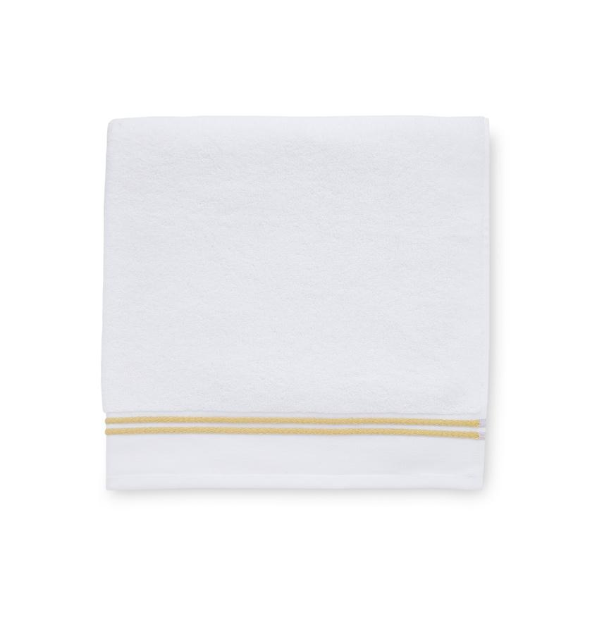 Aura White & Corn Bath Towels