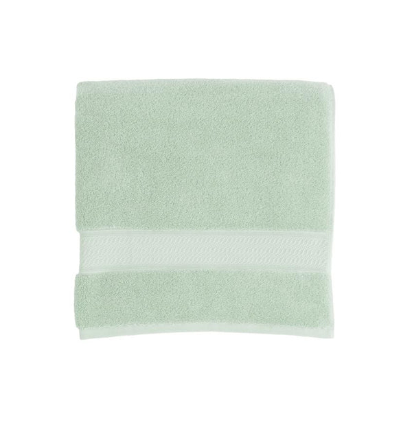 Jade green bath towels - Amira Jade by Sferra - Fig Linens
